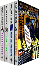 Sprawl Series Complete 4 Books Collection Set by William Gibson (Neuromancer, Count Zero, Mona Lisa Overdrive & Burning Ch...