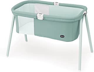chicco lullago travel bassinet in grey mist