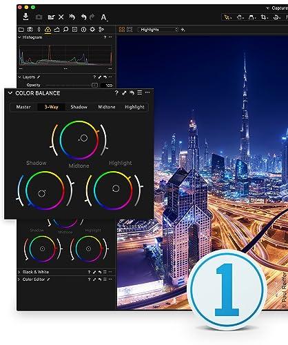 Capture One 11 Logiciel d'édition photo | Mono utilisateur, 3 postes | Mac [Téléchargement]