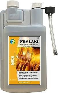 Potenciador de cetano ultra puro > 99% acetato de 2-etilhexilo, nitrato, NBS LAKI 1 l, aditivo de combustible diésel de hasta 1000 litros