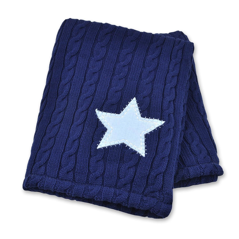 Just Born Sweater Knit Blanket, Vintage Sports