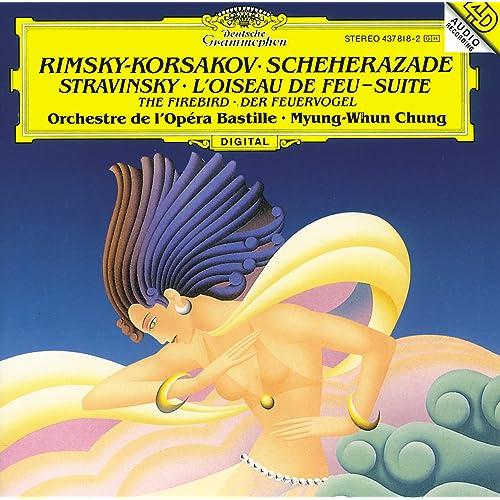 リムスキー=コルサコフ:シェエラザード、ストラヴィンスキー:火の鳥