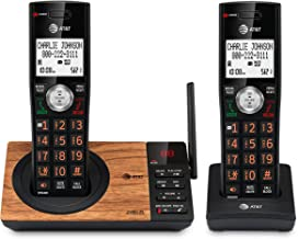$58 » AT&T CL82267 DECT 6.0 2-Handset Cordless Phone for Home with Answering Machine, Call Blocking, Caller ID Announcer, Interc...