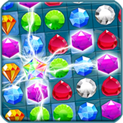 Planet of Gems-Three-in-a-Row puzzle Games