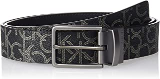 Calvin Klein Men's 35mm Ck Logo Reversible Strap Belt