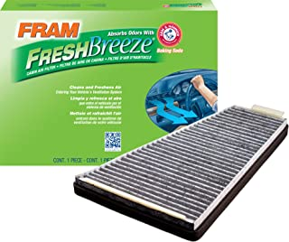 FRAM FCF8109A Fresh Breeze Cabin Air Filter with Arm & Hammer