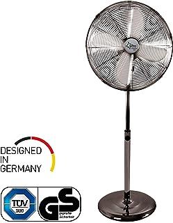 SUNTEC CoolBreeze 4000 50W Cromo, Metálico - Ventilador (Cromo, Metálico, 50 W, 220-240 V, 50 Hz, 445 mm, 400 mm, 1200 mm)