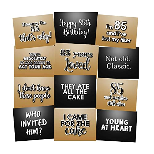 85th Birthday Photo Booth Props Accessories Kit Party Signs