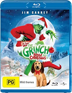 Dr Seuss' How The Grinch Stole Christmas (15th Anniversary Edition) [Regions 2,4] [Blu-ray]