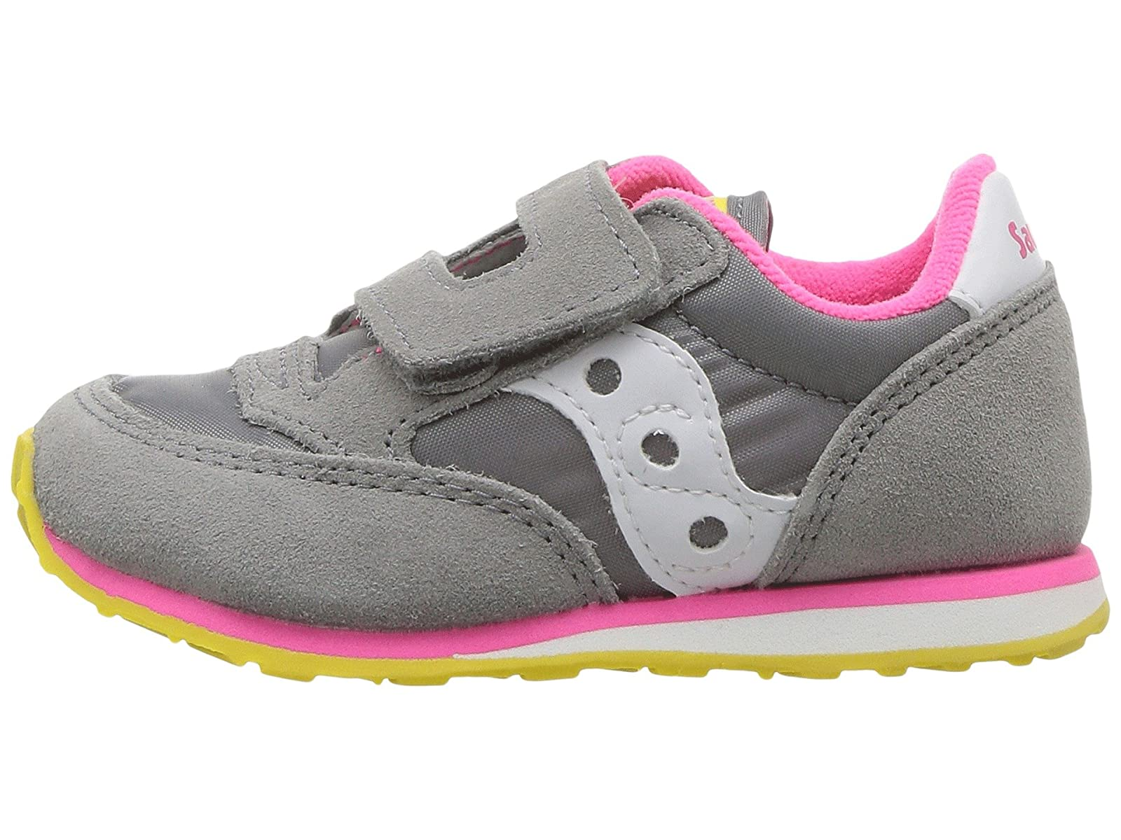 ca5ecf319d Details about Girl's Shoes Saucony Kids Originals Jazz Hook & Loop  (Toddler/Little Kid)