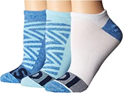 Adigraphic 3-Pack No Show Socks