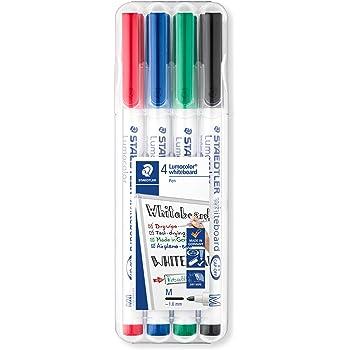 Staedtler Slim per lavagna bianca colore Blu confezione da 10