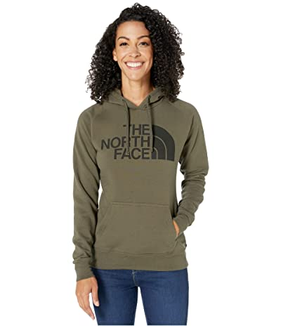 The North Face Half Dome Pullover Hoodie (New Taupe Green/TNF Black) Women