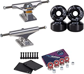 Independent Skateboard Package Combo with Trucks, Cal 7 52mm 100A Catch Wheels