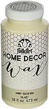 FolkArt Home Decor Wax (16-Ounce), 34863 Clear
