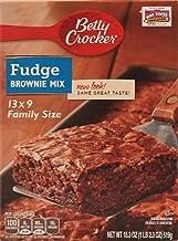 family size brownie mix
