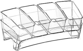 Prodyne SB-6 Condiment Bar On Ice, Clear