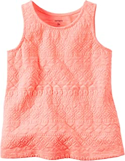 Carters Girls Best Day Ever Tank Top; White 6 Months