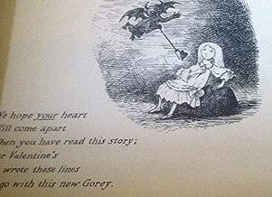 Gorey Card: Print: A Hapless Valentine's Day From Ivan Obolensky, Inc. (1961)