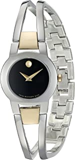 Women's Swiss Quartz Stainless Steel Casual Watch (Model: 0606893)