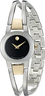 Movado Women's Swiss Quartz Stainless Steel Casual Watch (Model: 0606893)