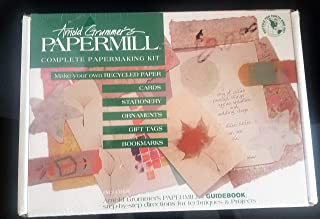 Arnold Grummer39;s Papermill Complete Papermaking Kit paper making kit