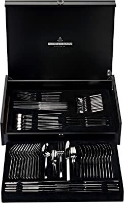 Picard & Wielputz 4005481773968 6173 Girona 102 Piece Dinner Set Giftbox, Stainless Steel, Multi