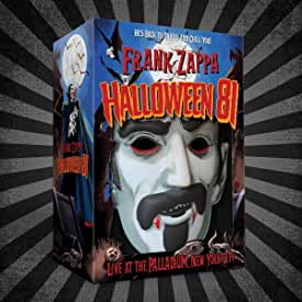Frank Zappa's HALLOWEEN 81 COSTUME BOX SET arrives Oct. 2 from Zappa Records and Universal Music