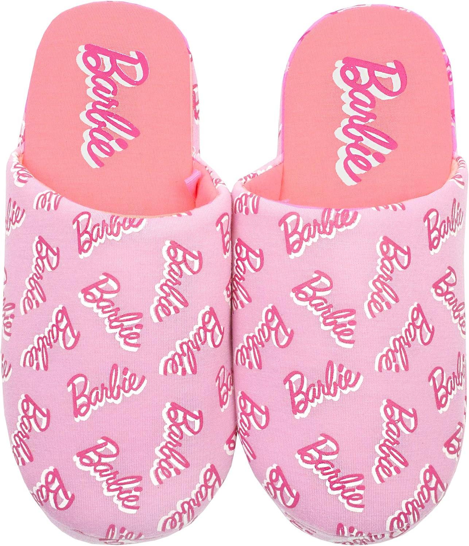 favorite Barbie All Over Print Slipper Pink Girl's Baltimore Mall