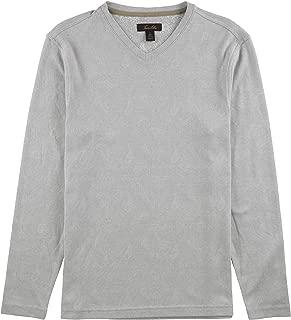 Tasso Elba Mens Jacquard Basic T-Shirt