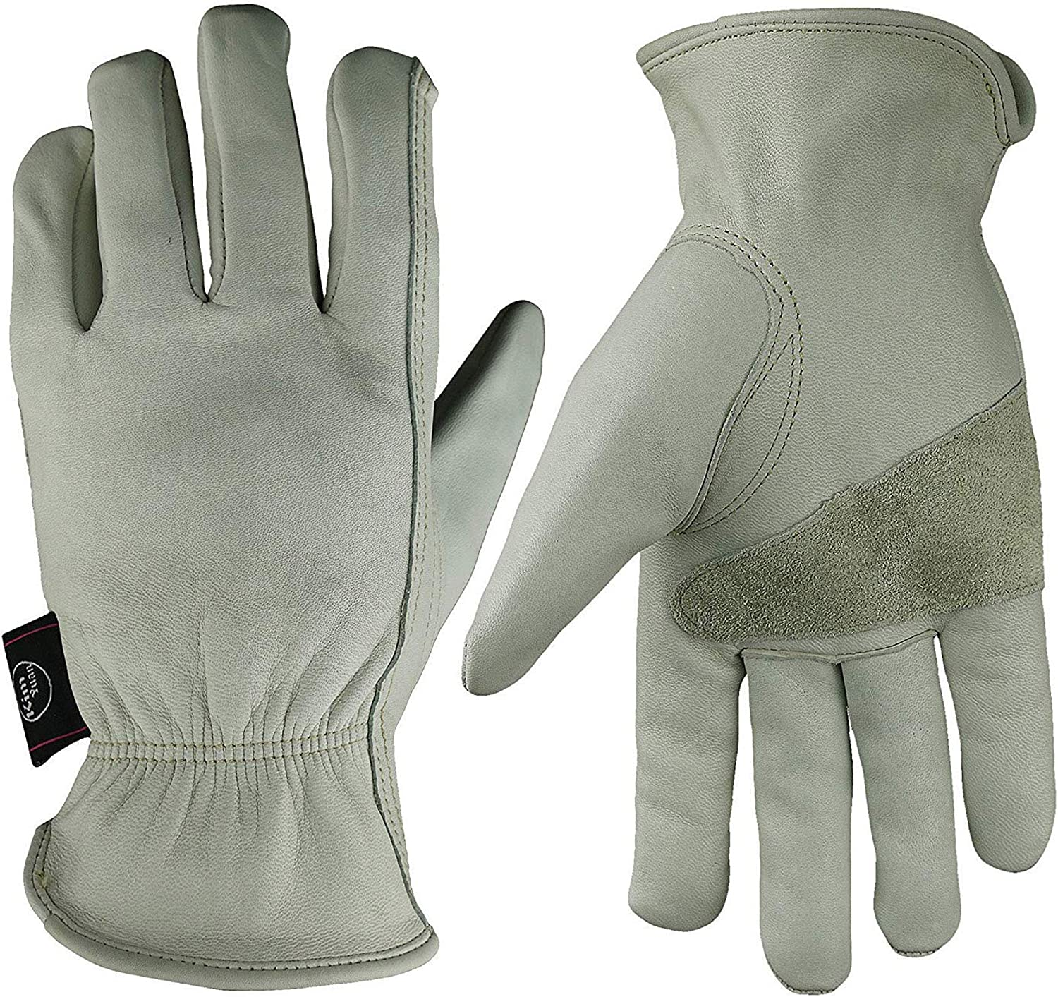 KIM YUAN Leather Work Los Angeles Mall Gloves Garden Max 50% OFF Cowhide Yard Grain for