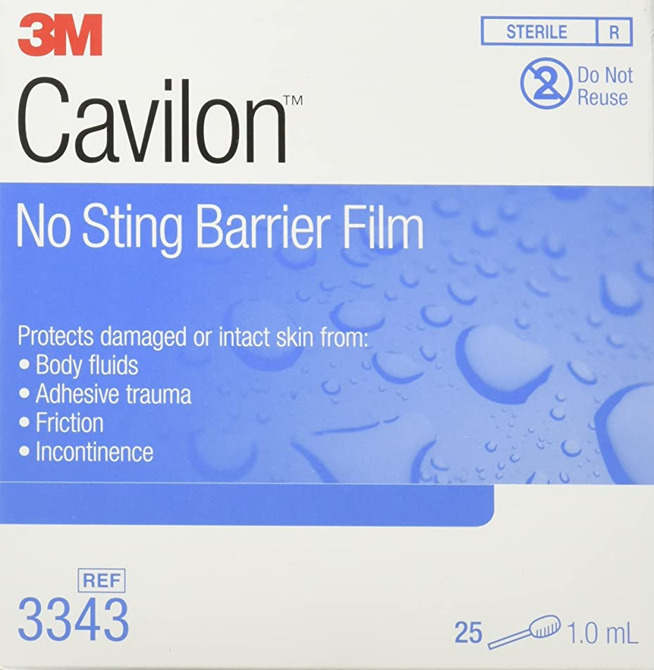 3m Cavilon No Sting Swabs, 25 per Box
