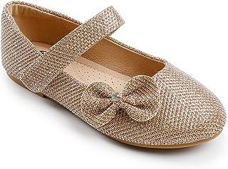 Trary Girls Mary Jane Dress Ballet Flats کفش با کمان