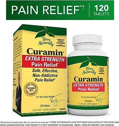 Terry Naturally Curamin Extra Strength 120 Tablets