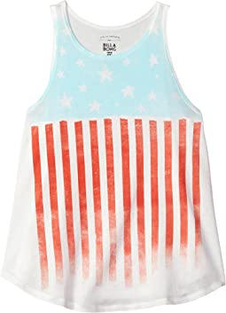 Billabong Kids Starry Flag Tank Top (Little Kids/Big Kids)
