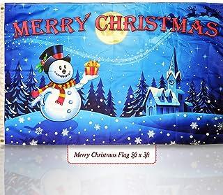 LAST FEW Christmas Scene Reindeer /& Tree 5/'x3/' Flag
