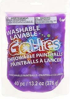 Goblies 30062891 Throwable Paint Ball, Purple