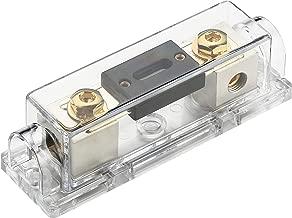 100 Amp Fuses InstallGear 0//2//4 Gauge Ga ANL Fuse Holder 2 100A