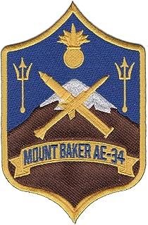AE-34 USS Mount Baker Patch
