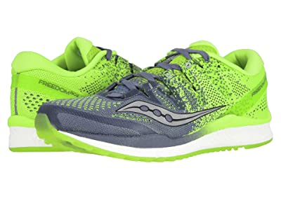 Saucony Freedom ISO2 (Grey/Slime) Men