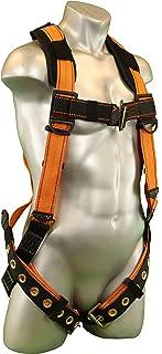 Malta Dynamics Warthog Full Body Harness with Tongue Buckle Legs & X-Pad (XXXL), OSHA/ANSI/CSA Compliant
