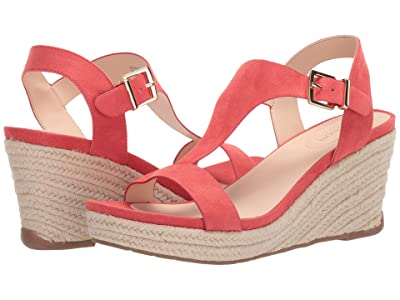 Kenneth Cole Reaction Card Wedge (Spiced Coral) Women