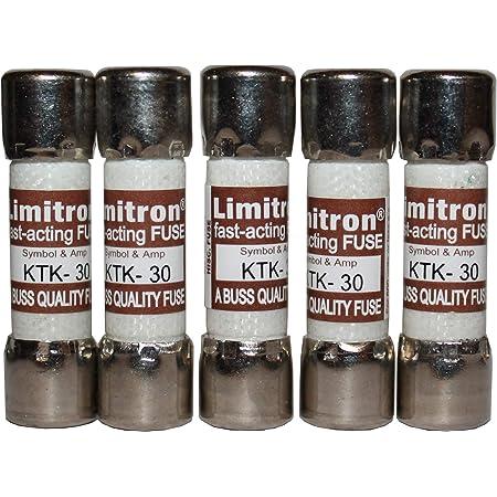 Italweber Limitron Fuse ktk-30 600v New Old Stock