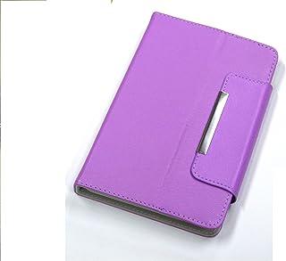 ZAZ  7インチ タブレット ケース ( スタンド機能つき ) 7inch タブレットケース Nexus7 momo9 原道 novo7 cube fine7 など7インチタブレット対応 (パープル)