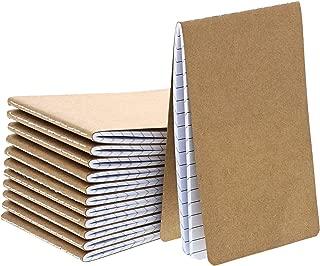 Paper Junkie Mini Blank Kraft Memo Book Field Notebooks (12 Count)