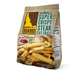 Grown in Idaho Super Crispy Steak Cut Fries, 28 oz (Frozen)