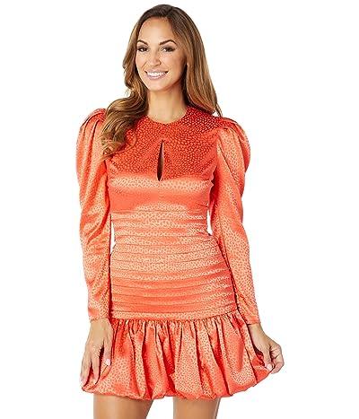 ONE33 Social Jacquard Keyhole Dress