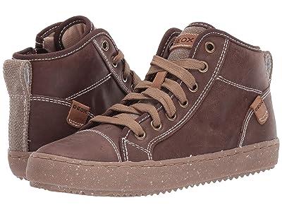 Geox Kids Geox x WWF Jr Alonisso 42 (Little Kid/Big Kid) (Coffee) Boys Shoes