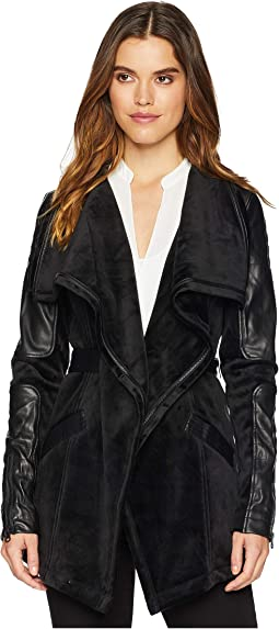 Drape Velour Jacket