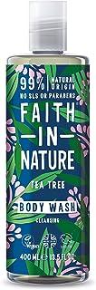 Faith in Nature Natural Tea Tree Body Wash, 400ml